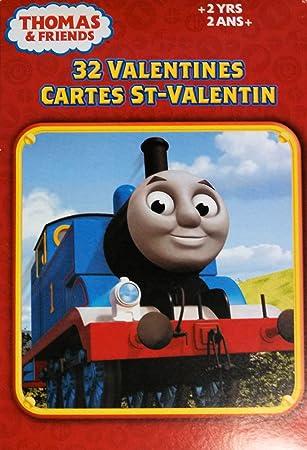 thomas friends 32 valentines cards