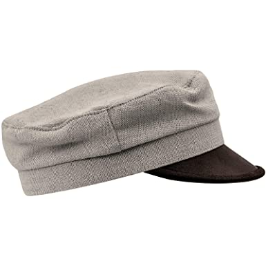 dec5d044443 Sterkowski Summer Linen Fiddler Style Tevia Cap at Amazon Men s Clothing  store