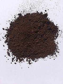 Pigmento/tinte marrón oscuro (1 Lb) de castaño para hormigón, yeso, cerámica, pintura para paredes, ladrillo, azulejos, mortero etc.