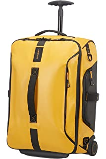 SAMSONITE Paradiver Light - Spinner Duffle Bag 55/20 Sac de voyage, 55 cm, 50 liters, Jaune (Yellow)