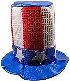 Folat CC-FO-09936 - Gorro de fiesta con bandera de Estados Unidos (tamaño único)