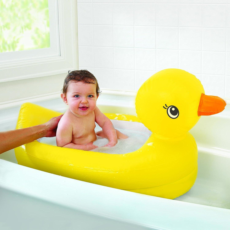 Munchkin White Hot Inflatable Duck Tub Amazon Baby