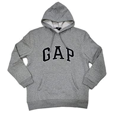 GAP Sudadera de Lana con Capucha Arch Logo para Hombre: Amazon.es: Ropa y accesorios