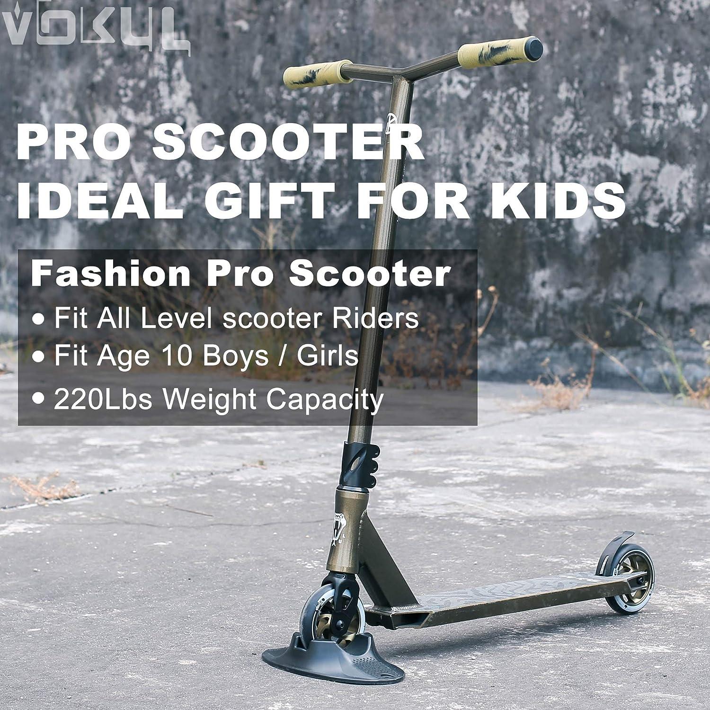 Amazon.com: VOKUL Patinete profesional completo para niños y ...