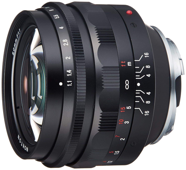VoightLander 単焦点レンズ NOKTON 50mm F1.1 レンズのみ  B0036WSJFC