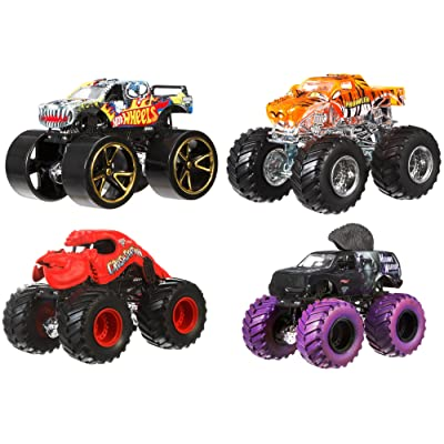 Hot Wheels Monster Jam Tour Favorites – Styles May Vary: Toys & Games