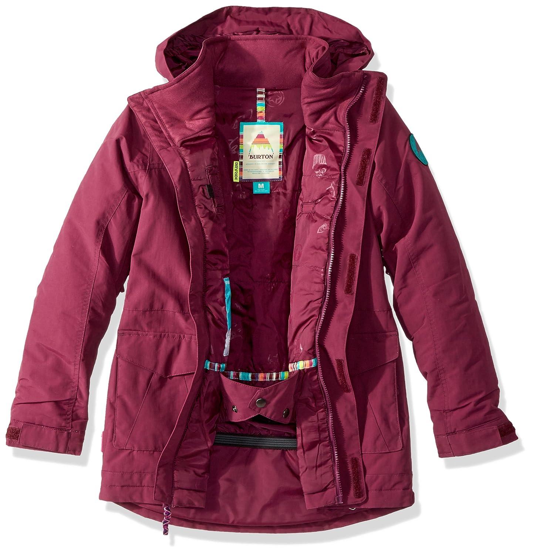 a4b3ed391537 Amazon.com : Burton Elstar Parka Snowboard Jacket Girls : Clothing