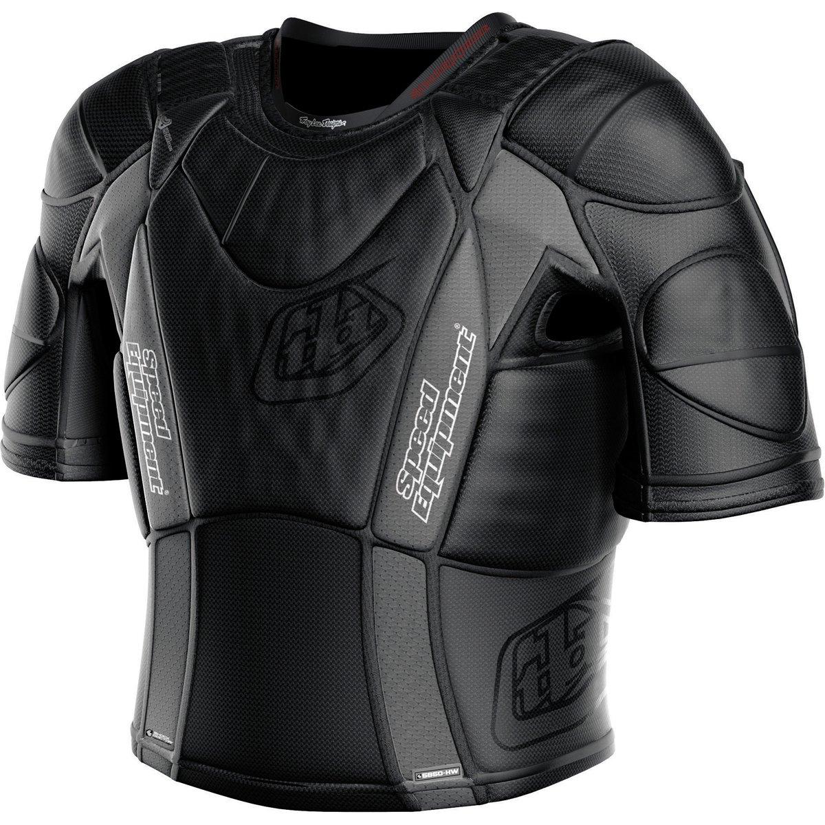 Troy Lee Designs UPS 5850 HW Adult Undergarment Off-Road Shirts, MediumBlack