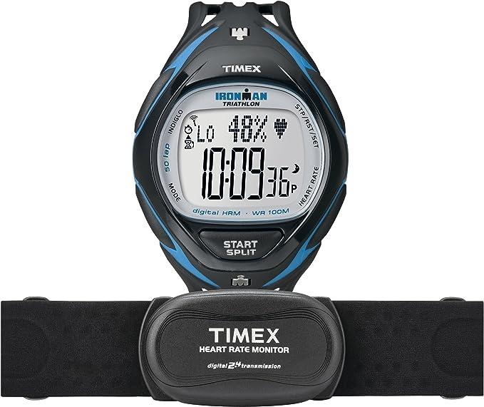 Timex T5K567 - Reloj de pulsera para hombre, lcd/negro