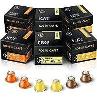 Rosso Coffee Capsules for Nespresso Original Machine - Gourmet Espresso Pods, Compatible with Nespresso Original Line…