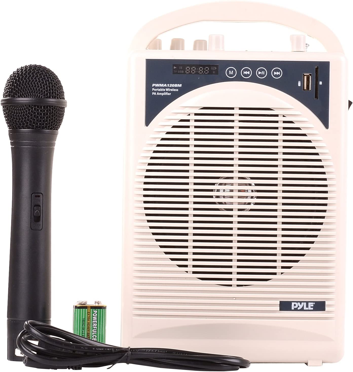 Upgraded Pyle Professional Portable PA System
