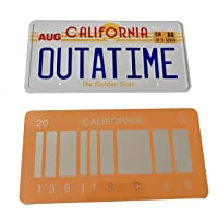 OUTATIME Back To The Future 1 Placa
