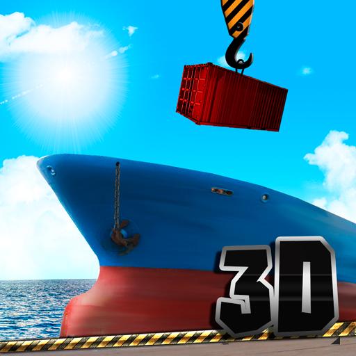 amazoncom cargo crane simulator 3d port appstore for
