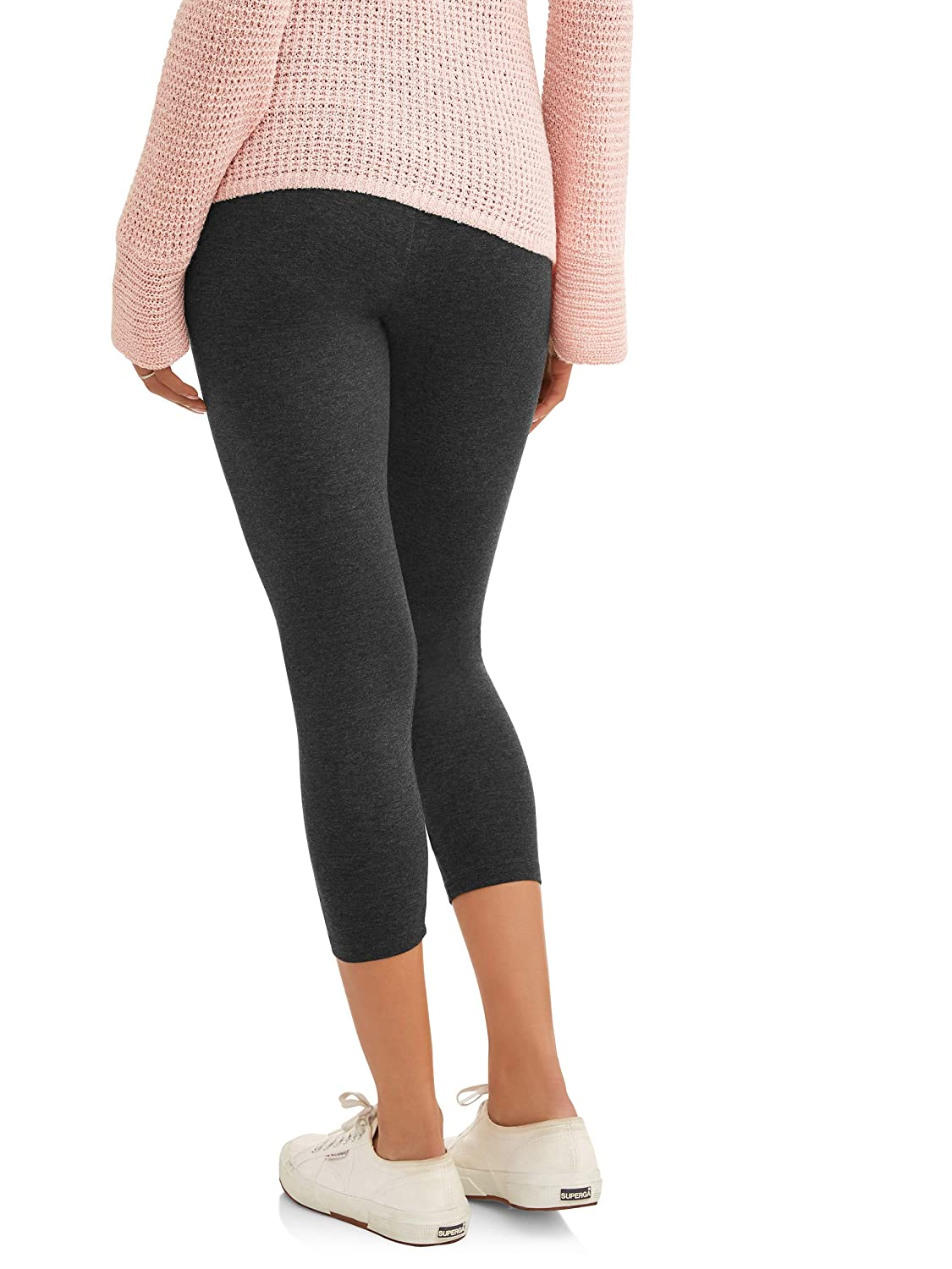b7400ebf780672 RUMOR HAS IT Maternity Over The Belly Capri Crop Support Leggings at Amazon Women's  Clothing store: