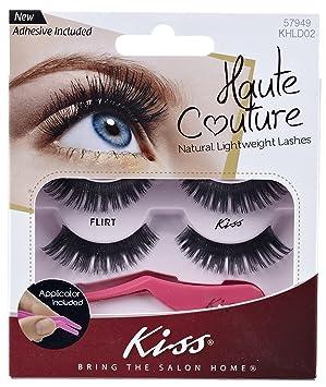 Kiss Haute Couture Lashes - Flirt, 2 unidades (2 x 4 ...