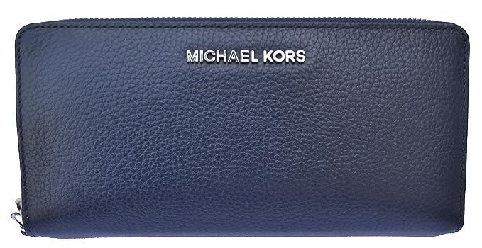 Michael Kors - Monedero de piel con diseño de cuadros, color ...
