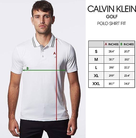 Calvin Klein Golf 2020 Midtown Radical - Polo para hombre: Amazon ...