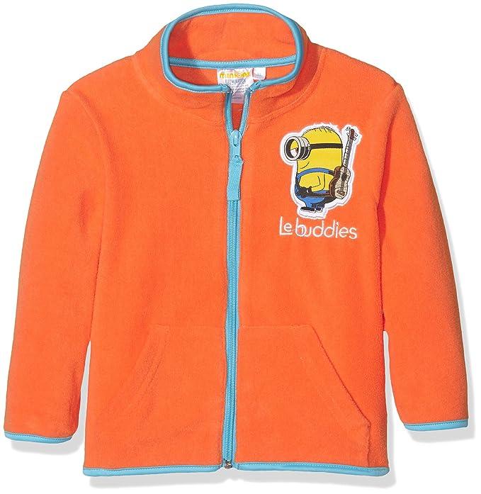 Universal Pictures Minions Buddies, Sudadera para Niños, Naranja (Mandarine), 4 Años