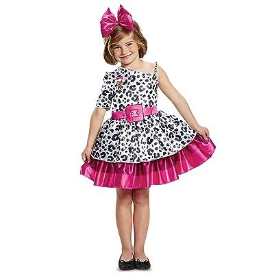 L.O.L. Surprise! Diva Classic Child Costume, White, Medium/(7-8): Toys & Games