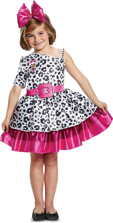 L.O.L. ¡Sorpresa! Diva - Disfraz clásico para niño, Color Blanco ...