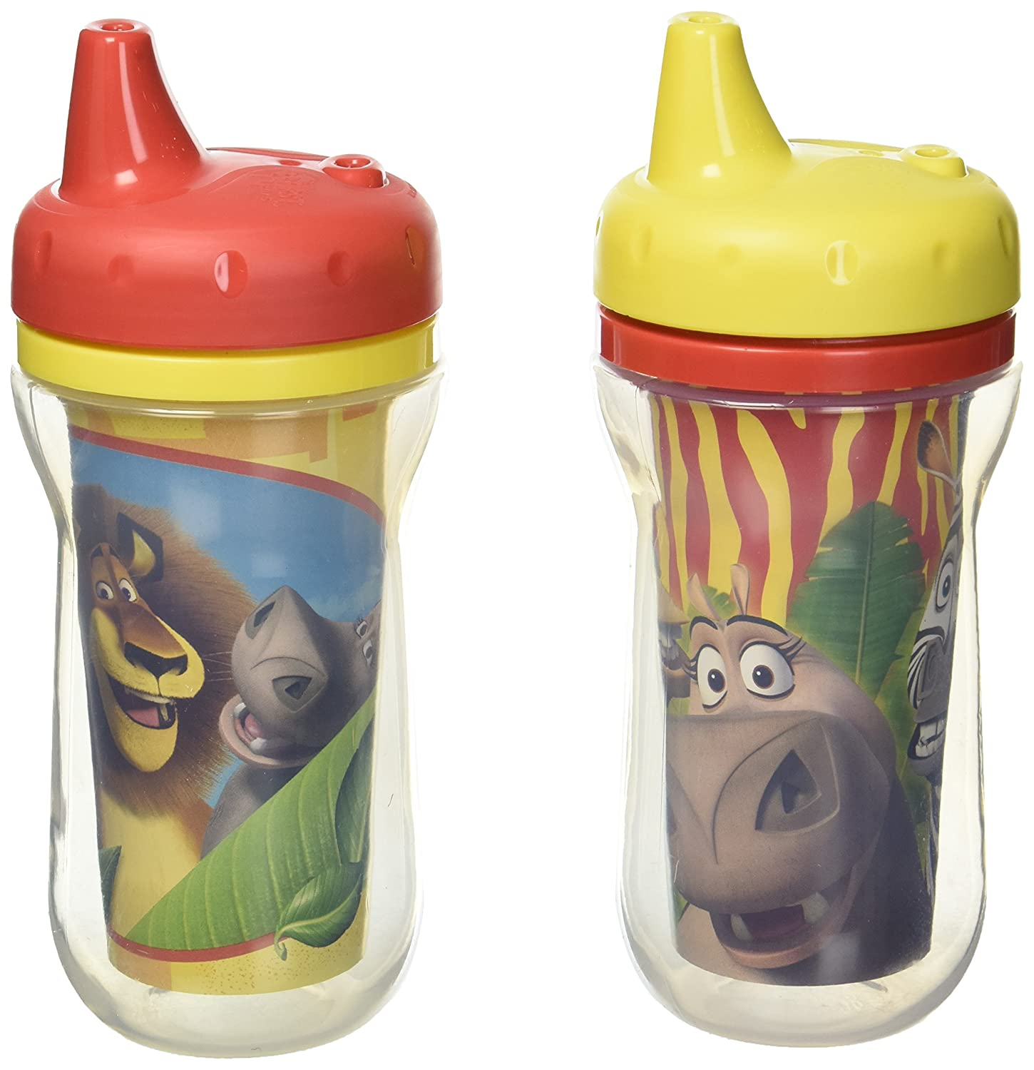 The First Years 2 Piece Insulated Sippy Cup, Marvel TOMY Corp Y10887A2