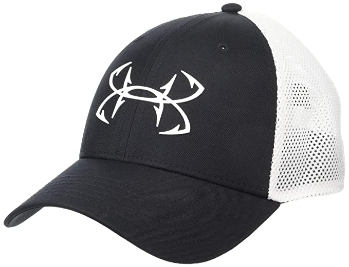 ed161815dd4 Under Armour Fish Hook 2.0 Hunter Cap ( Black (001) White