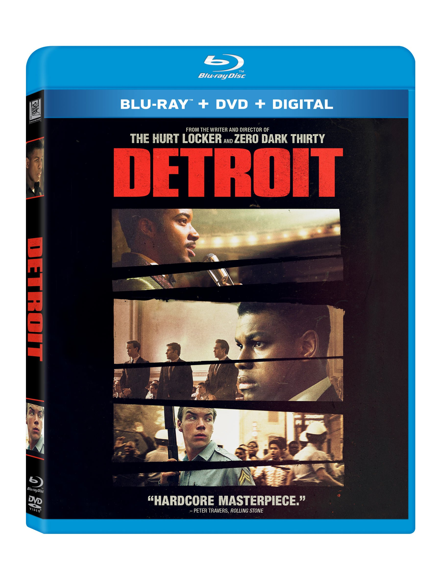 Detroit (With DVD, Digitally Mastered in HD, 2 Pack, Digital Theater System, AC-3)