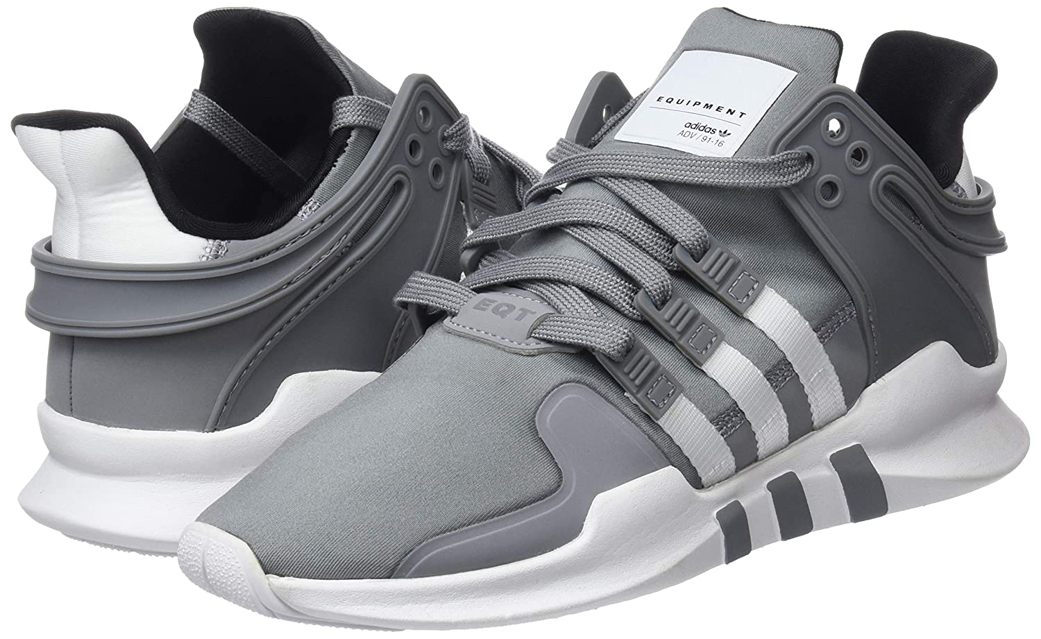 Amazon.com | adidas Mens EQT Support ADV HK, Grey Three/Footwear White/CORE Black | Shoes