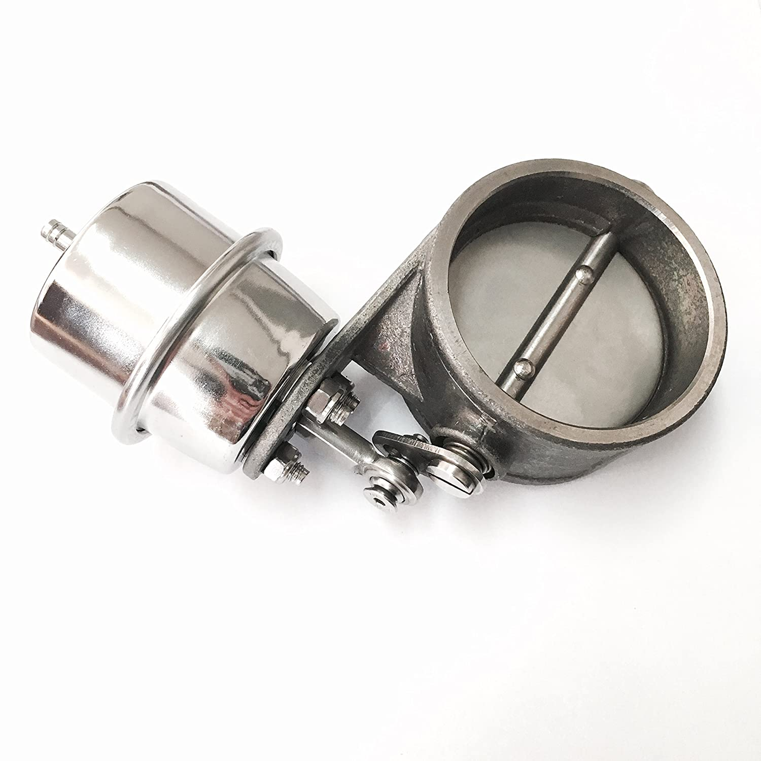 (2.5\') Stainless Exhaust Valve Normally Closed with Boost Open Stainless Bros