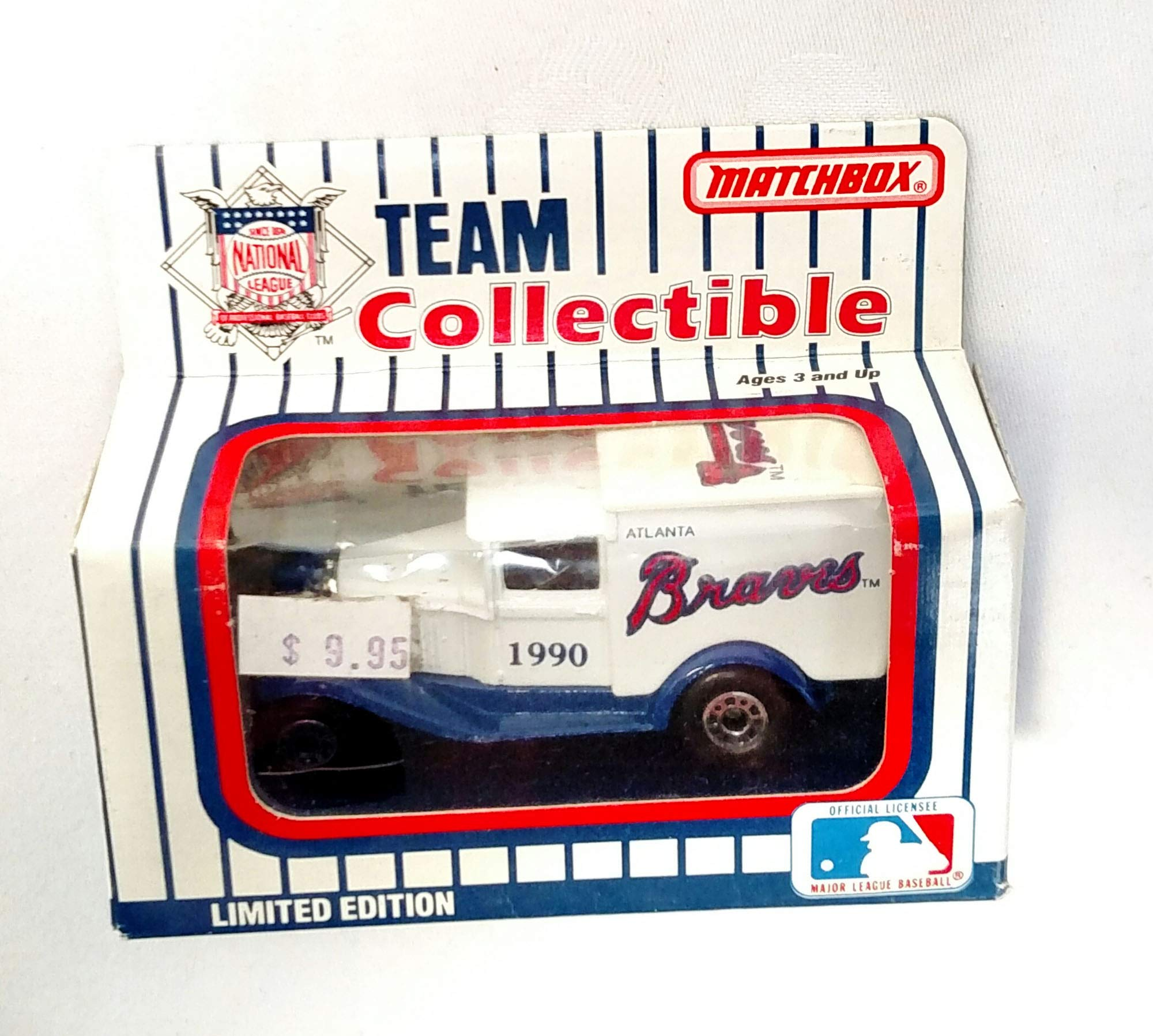 Atlanta Braves 1990 Limited Edition Matchbox Die Cast Collectible