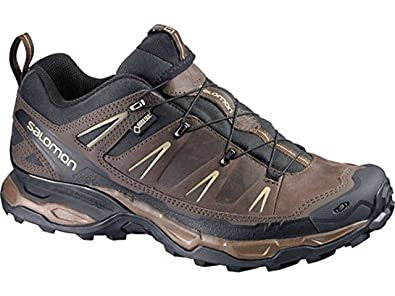 Men's X Ultra LTR GTX Hiking Shoes and Spare Quicklace Bundle