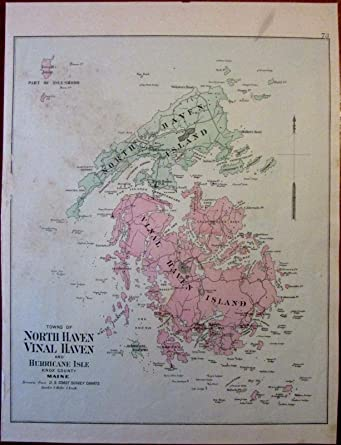 Amazon Com North Vinal Haven Hurricane Isle Knox County Maine C