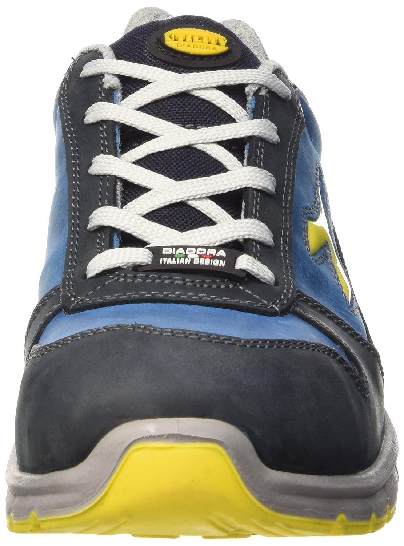 Diadora Run High S3 SRC - Calzado de Protección de Piel para Mujer Gris Grigio Castello/BLU Lunare 45 KfO7Y0Zm