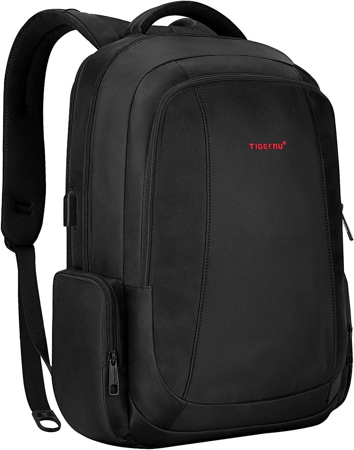 Amazon.com: Laptop Backpack Tigernu Business Computer Backpacks Durable Water Resistant Slim Anti Theft Travel Bag with USB Charging For Men and Women 15.6 Inch (Black): Computers & Accessories