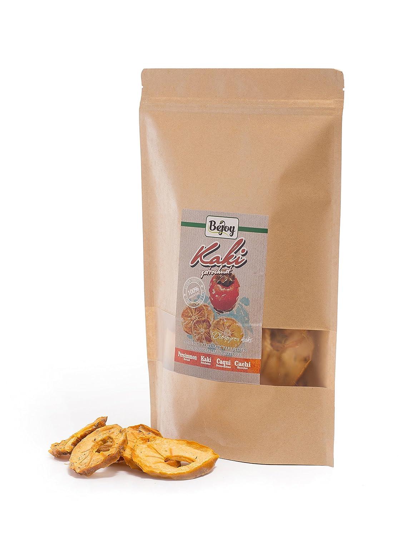 Biojoy Caqui desecadas 100% Sharonfruit sin hueso, sin azúcar, aditivos, SO2 (0,5 kg): Amazon.es: Alimentación y bebidas