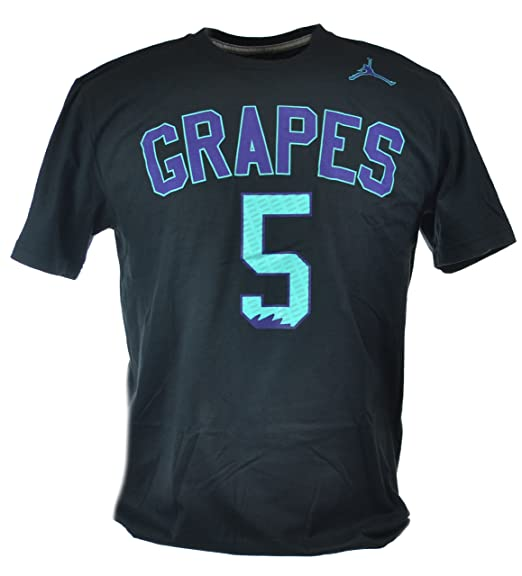 e915f3b6387587 Amazon.com  Jordan Retro 5 Grapes Men s T-Shirt Black Grape 534802 ...