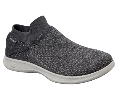 4a44f7e4fc Skechers Performance Women's Go Step Lite-Ultrasock Walking Shoe ,Charcoal,5.5