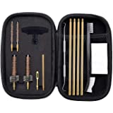 BOOSTEADY Pro .223/5.56 Cleaning Kit with Bore Chamber Brushes Cleaning Pick Kit, Brass Cleaning Rod in Zippered…