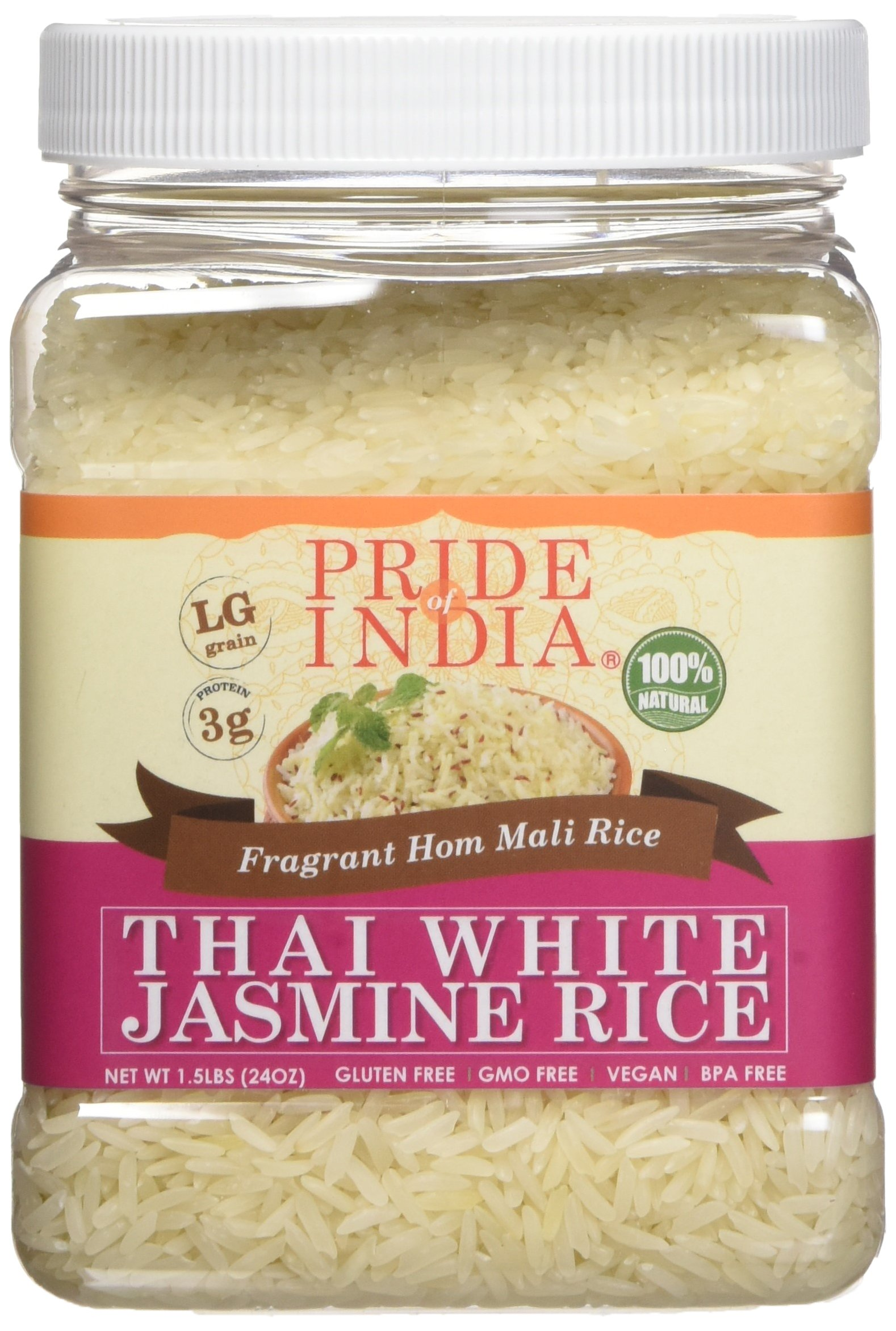 Amazon.com : Pride Of India - Extra Long Brown Basmati