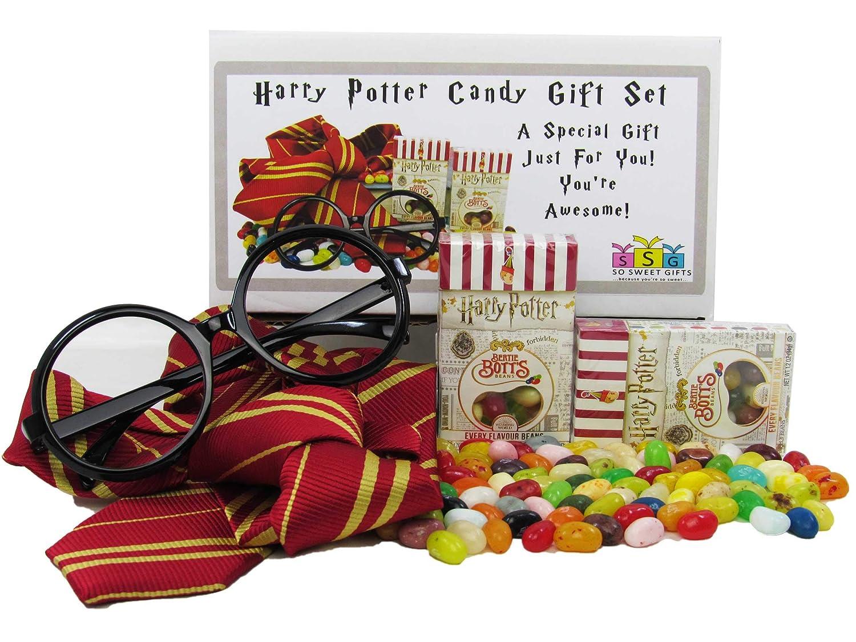 Harry Potter Bertie Bott's Beans with Wizards Glasses & Tie