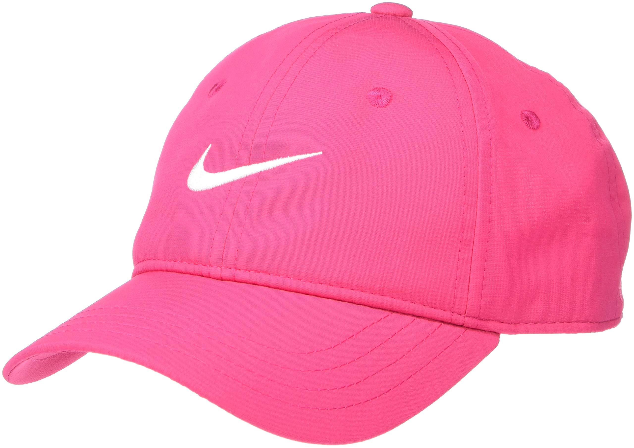 NIKE Children's Apparel Kids' Little Classic Ripstop Basball Hat, Rush Pink, O/S by NIKE Children's Apparel