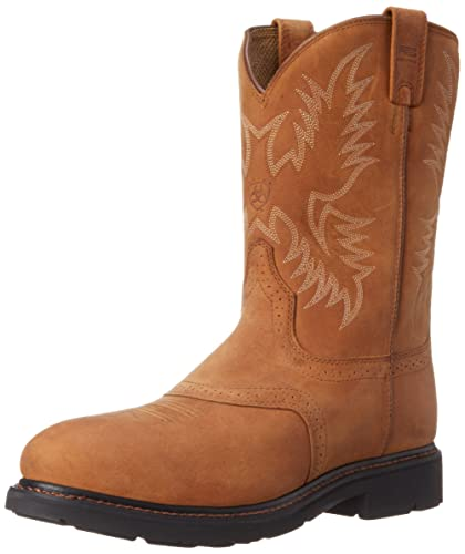 Amazon.com | Ariat Men's Sierra Saddle Steel Toe Work Boot | Western