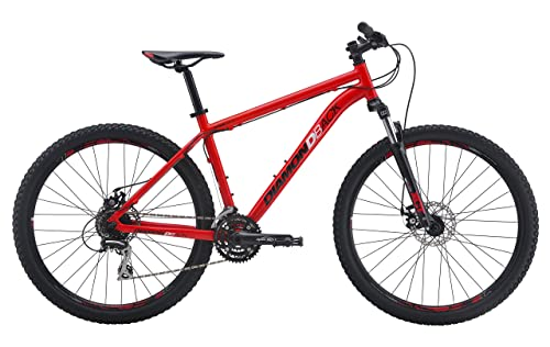 Diamondback Bicycle 2016 Overdrive Hard Tail Mountain Bike, Red (27.5-Inch)