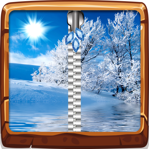 Amazon com: Cool Winter Zipper Lock Screen: Appstore for Android
