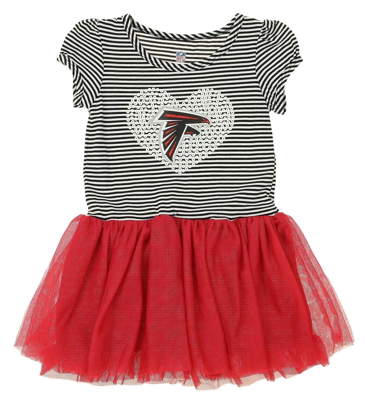 bcc5ebac Outerstuff NFL Girl's Infant and Toddlers Celebration Sequin Tutu, Team  Variation