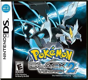Nintendo Pokemon Black Version 2 Juego Nintendo Ds Rpg Juego De