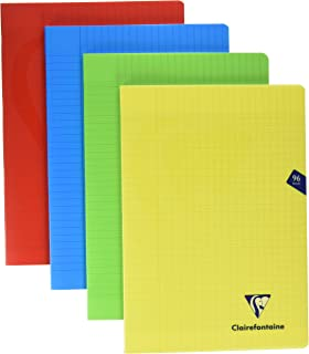 Clairefontaine A6 Ruled Notebook Metric Purple note book pad lined grid dot art