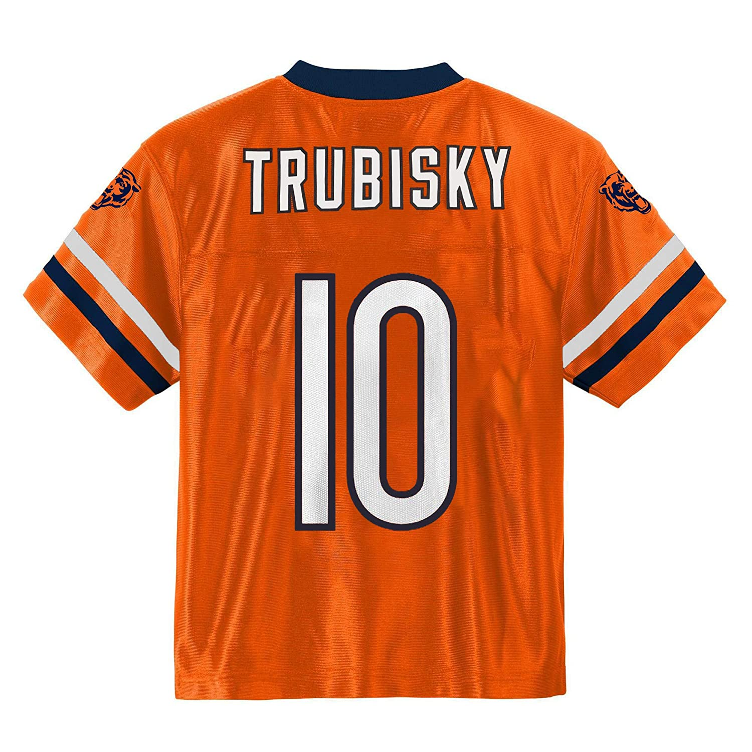new arrival e1895 3d8ff Amazon.com : Outerstuff Mitchell Trubisky Chicago Bears #10 ...