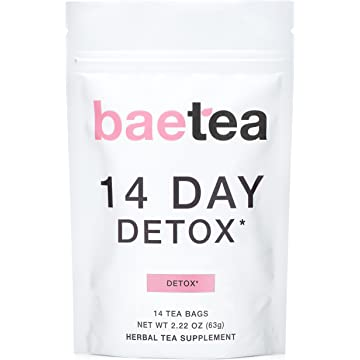 best Baetea 14 Day Teatox Detox Herbal Tea Supplement reviews