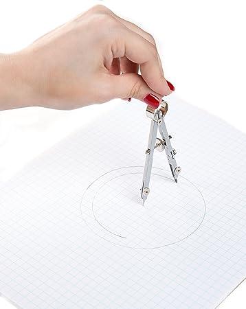 Ferocious Viking Products Sistema brújula geometría: Amazon.es: Oficina y papelería